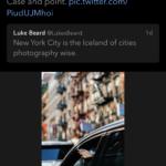 Luke Beard's Original Twitter Post